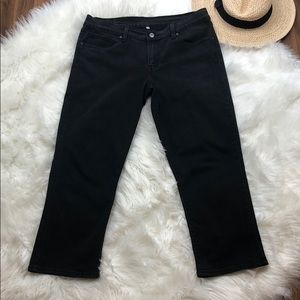 Levi's Ankle Cropped Jeans